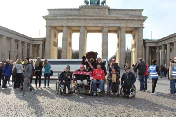 Ausflug zum Brandenburger Tor