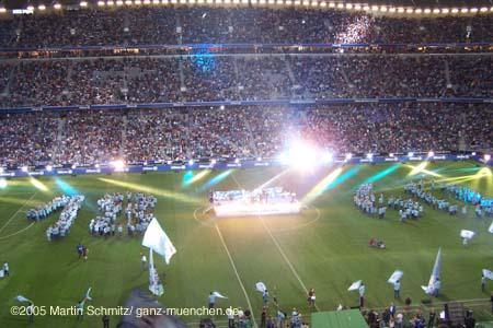 Eröffnungsfeier der Allianz Arena mit dem FC Bayern München und dem TSV 1860 München