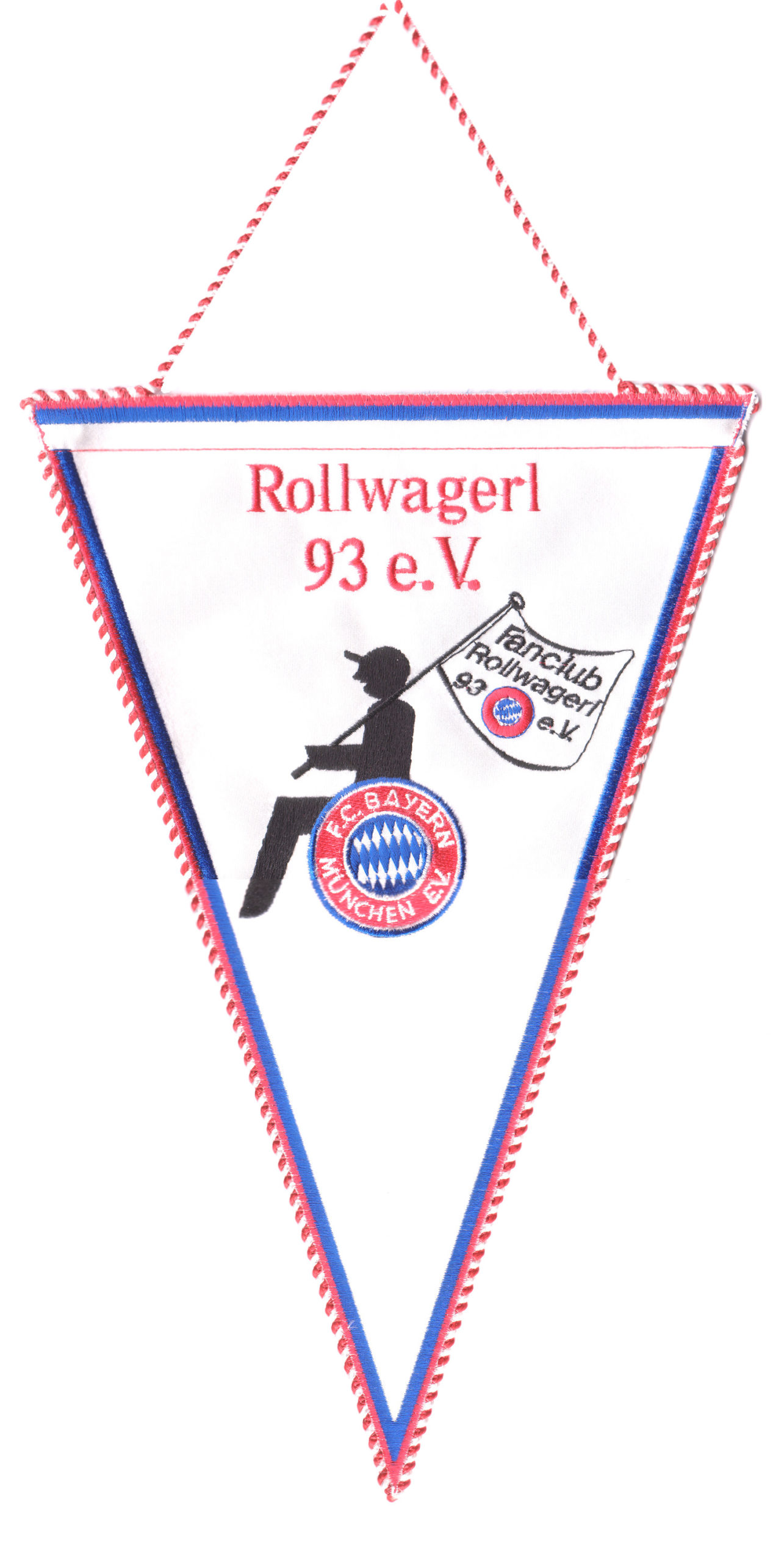 Wimpel mit Rollwagerl 93 Logo