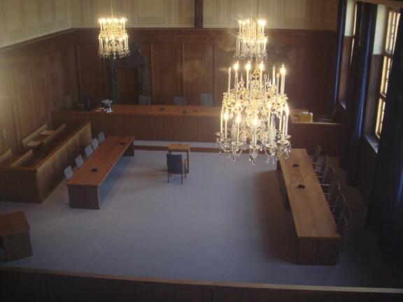 Alter Gerichtssaal;