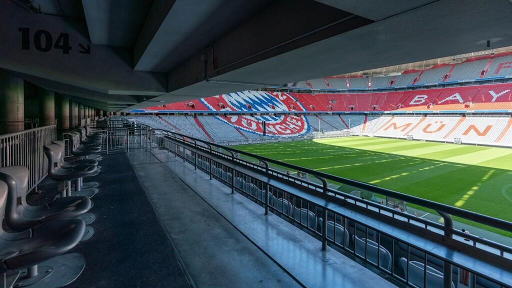 Rollstuhl-Plätze in der Allianz Arena